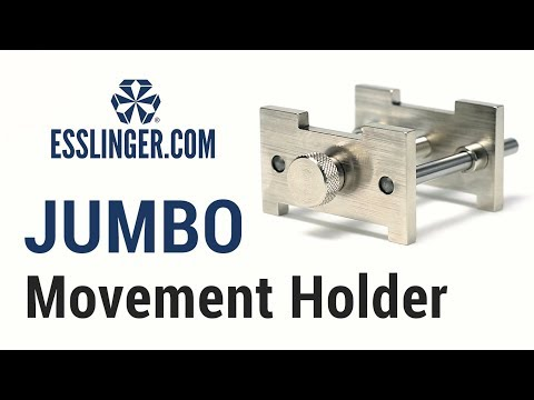 Pocket Watch Movement Holder