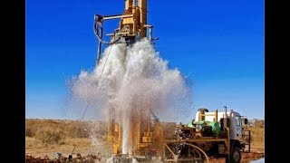 Ground Water Testing with Coconut, and With Machar, Borewell Drilling, Pumping Water in Borewell.