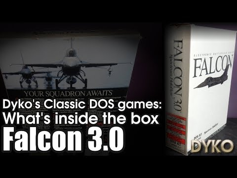 Dyko's classic DOS games: What's inside the box of Falcon 3.0