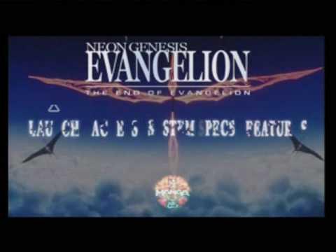 Death and Rebirth, End of Evangelion DVD Menus
