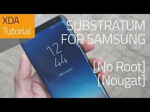 Samsung Integration for Substratum (Nougat) No Root