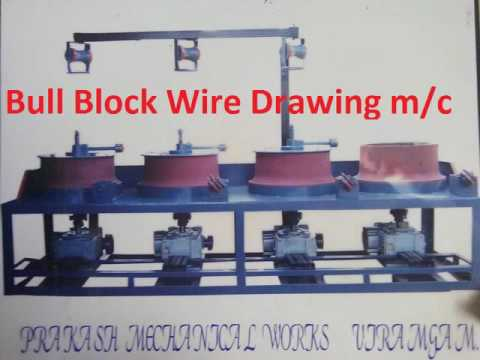 Wire Drawing machine manufacturer