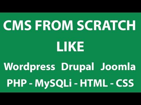 PHP Tutorials #4 - Advance CMS - Including Header, Footer, Navigation