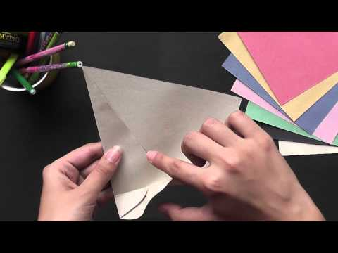 Let's make a Japanese Envelope - Origami in Hindi