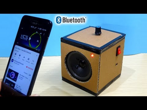How to make a Simple Bluetooth Speaker from Cardboard at home