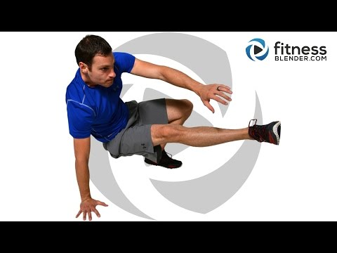 Intense at Home HIIT Cardio and Abs Workout - Abs On Fire