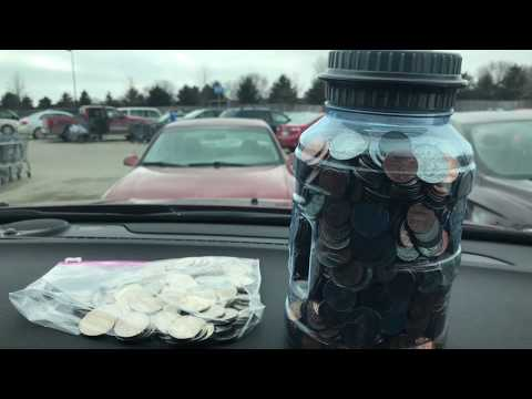 Taking 30 Pounds of Coins to The Bank! (How to Get Cash From Loose Change)
