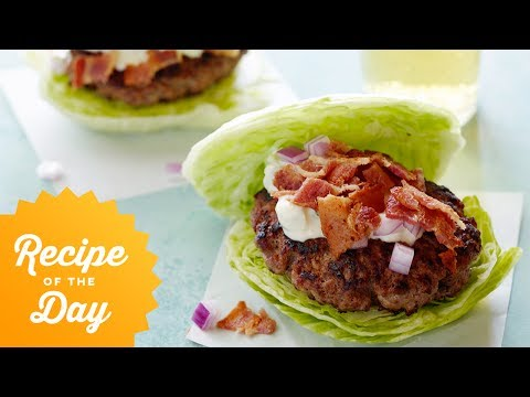 Recipe of the Day: No-Bun Wedge Salad Burgers | Food Network