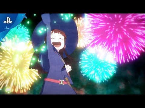 Little Witch Academia: Chamber of Time - Opening Cinematic | PS4