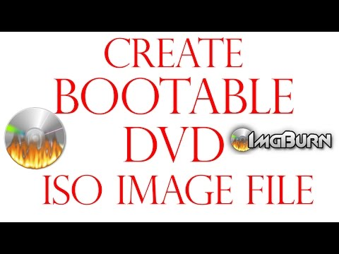 How to Create Bootable DVD Disc with iso Image file in Hindi