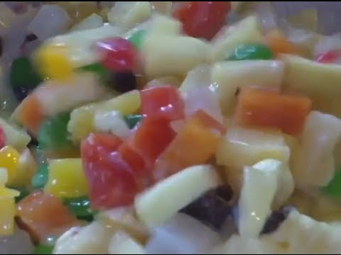 KristineCM || ✿ Macaroni Fruit Salad ✿