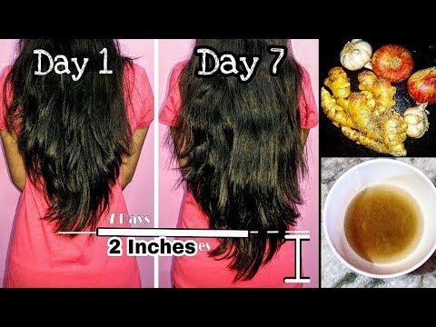 How to grow your hair faster and longer | Reduce Hair fall & get faster hair growth in 7 days