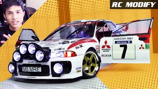 RC Modify 15 | Mitsubishi Evolution III EVO 3 WRC Rally [English]