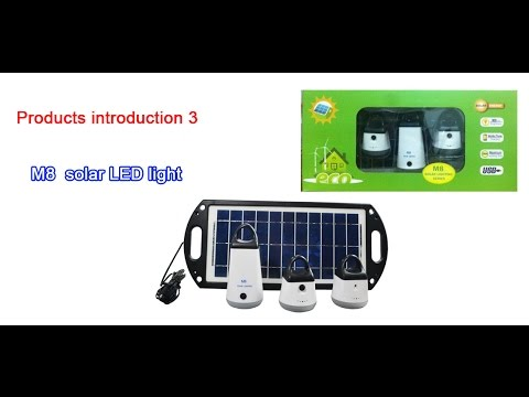 m8 solar  light manufacturer in China solar lighting system  solar lighting system manufacturer