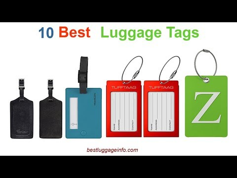 Best Luggage Tags | Ten Best Cheap Personalized Luggage Bag Labels Tags.