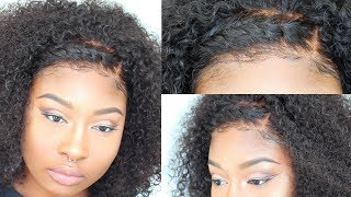 The Most Natural Curly Wig EVER | Jaelah Wig - MyFirstWig | No Plucking, Bleaching or Glue!