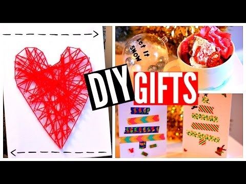 DIY CHRISTMAS GIFTS 2015! Cheap & Easy Ideas!