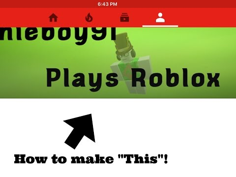 How To Make A Youtube Banner On IOS 2016