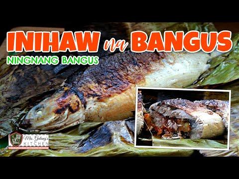 INIHAW NA BANGUS or NINGNANG BANGUS (Mrs.Galang's Kitchen S6 Ep12)