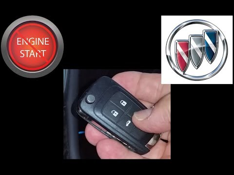 Buick flip key key fob battery replacement.
