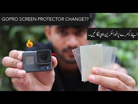 Gopro Heros    screen protector free change