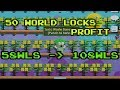 Growtopia | How To Get 50wls Profit?! | Toxic Waste Profit | Easy Profit