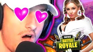 VOICE CHANGER SQUEAKER FINDS A GIRLFRIEND ON FORTNITE!