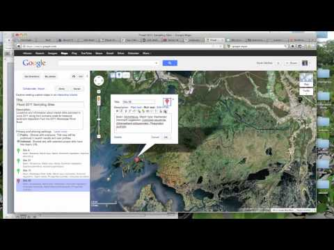 How to Create Interactive Maps of Your Study Sites