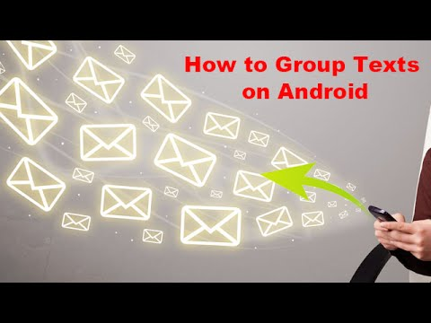 How to Group Texts on Android
