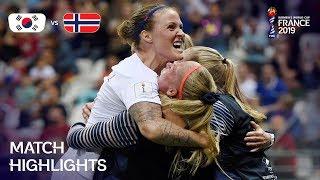 Korea Republic v Norway - FIFA Women's World Cup France 2019™