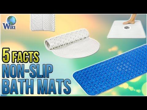 Non-Slip Bath Mats: 5 Fast Facts