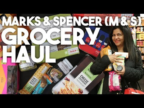 Marks & Spencer Grocery Haul | M & S Foodhall | Kravings