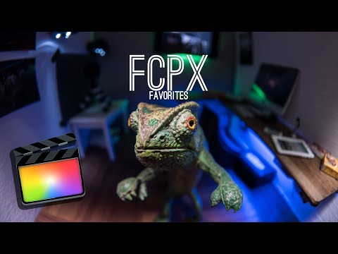 FCPX Plug-in Favorites
