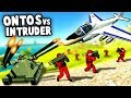 The Craziest Tank Ever 6 Barreled Tank Vs Jets ravenfield Mod Gameplay