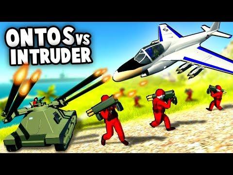 The CRAZIEST Tank Ever!  6 Barreled TANK vs JETS (Ravenfield Mod Gameplay)