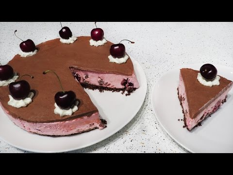 Cherry Garcia Cheesecake | Ben and Jerries Inspired Recipies: Part 4 | CupcakeGirl
