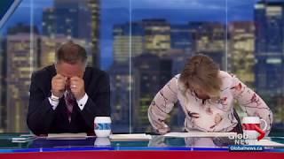 Morning show hosts lose it when weatherman talks 'swinging' live on-air