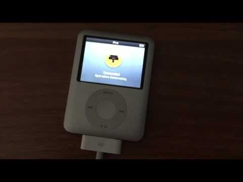 iPod Nano Reset and Unlock