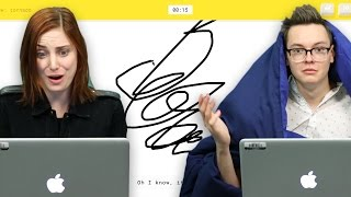 Google QuickDraw AI AMAZINGLY Knows What You're Drawing - Is It Cheating? - SourceFed Plays!