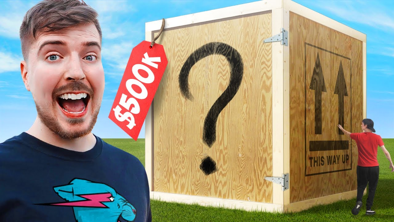 I Bought The World's Largest Mystery Box! ($500,000)