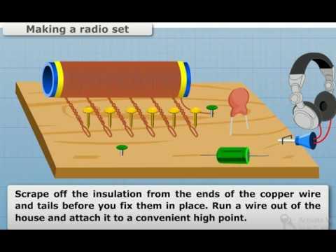 How To Make A Radio Set ( Home Made Radio ) 100% working