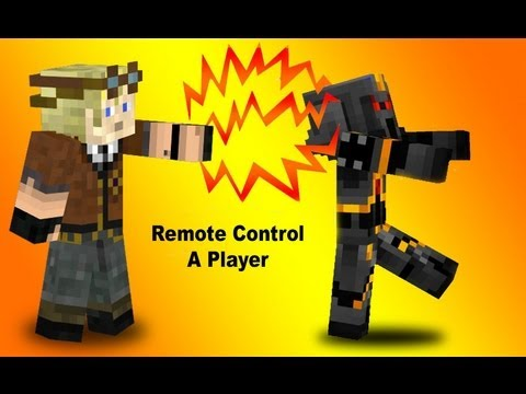 Player mind control. How to remote control any player in Vanilla Minecraft