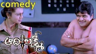 Aadhi Lakshmi Movie    Abhinayasri & Ali , Uttej Comedy Scene     Srikanth , Sridevi , Vadde Naveen