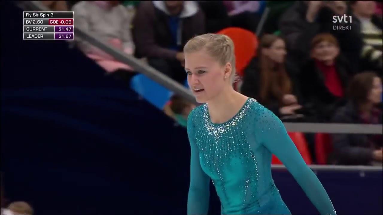 "Download Lagu ""Pamit"" Tulus jadi pengiring figure skater Slovenia Eropean Figure Skating Championship 2018 MP3 Gratis"