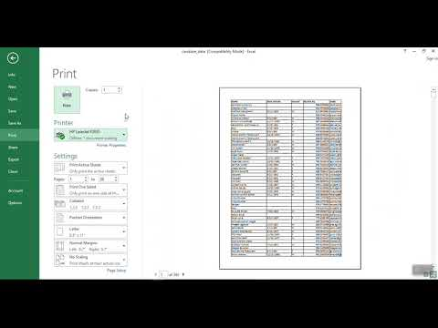 How To Print in Excel - Print the Gridlines in an Excel Spreadsheet on paper