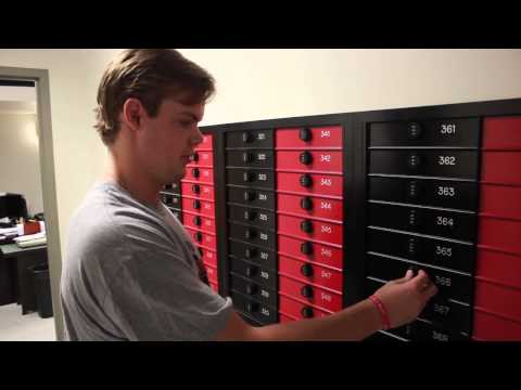 Lake Forest College mail room example 2