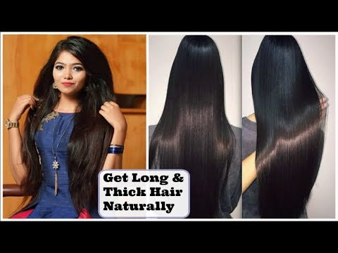 HOW TO Get LONG, SILKY, SMOOTH HAIR NATURALLY   DIY Hair Mask   Israt Oishee