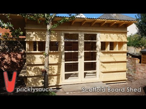 Shed build pricklysauce