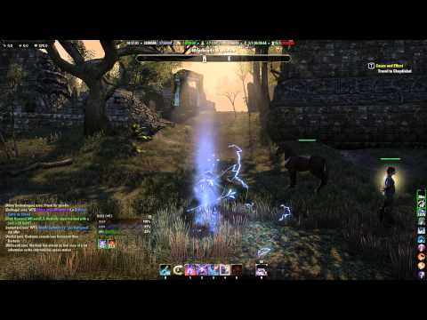 ESO light horse speed test