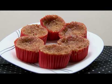 How to Make Red Fruit Cupcake in Microwave Oven- HogarTv By Juan Gonzalo Angel